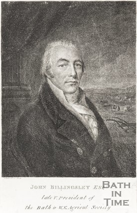 Portrait of John Billingsley Esq. Late V. President of the Bath and West Agricultural Society
