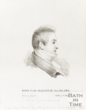 Pencil Sketch John Cam. Hobhouse Esq. M.A., F.R.S.