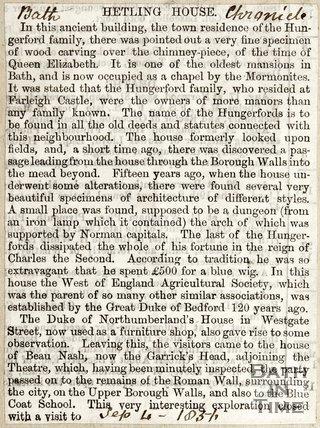 Hetling House September 4th 1837