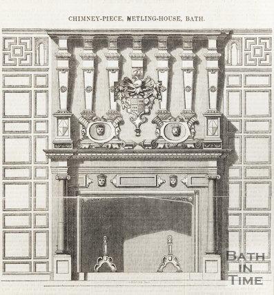 Chimney Piece Hetling House Bath