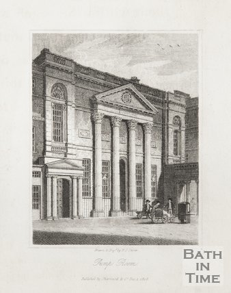 Engraving Pump Room December 1st 1818