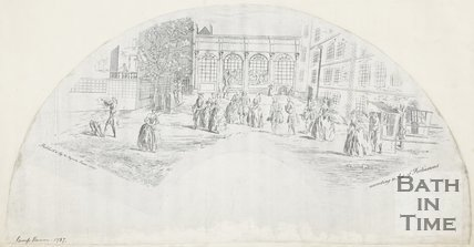 Drawing of the Pump Rooms for a Fan June 1737