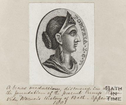 Engraving Pompeia 1801