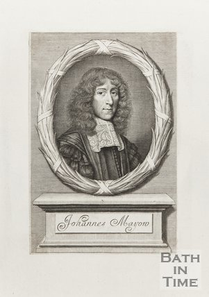 Engraving Johannes Mayon