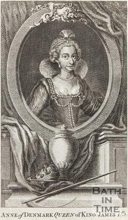 Portrait of Anne of Denmark Queen of King James I