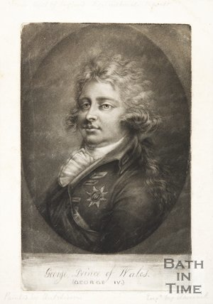Portrait of George Prince of Wales (George IV)