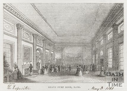 Grand Pump Room Bath May 3rd 1851
