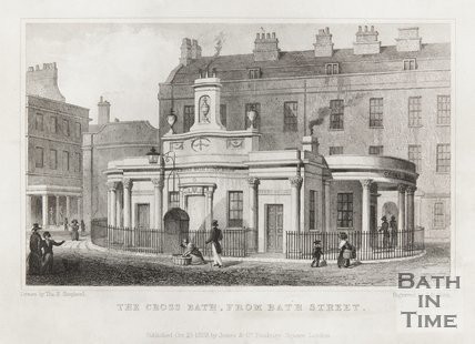 The Cross Bath from Bath Street October 10th 1829
