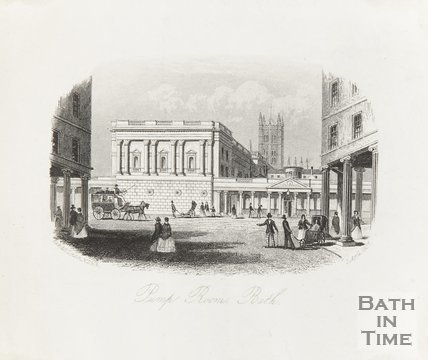 Pump Room, Bath, April 2nd 1851
