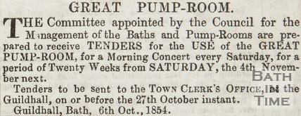 Great Pump Room 1854