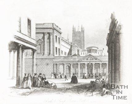 Baths and Pump Rooms, Bath May 4th 1841
