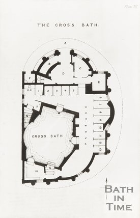 Plan 3 of the Cross Bath