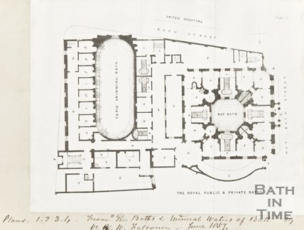 The Royal Public and Private Baths Plan IV