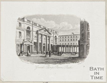 Grand Pump Room Bath March 12th 1861