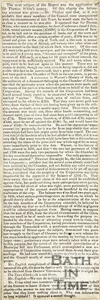 Charities in trust of the Bath Corporation March 24th 1836