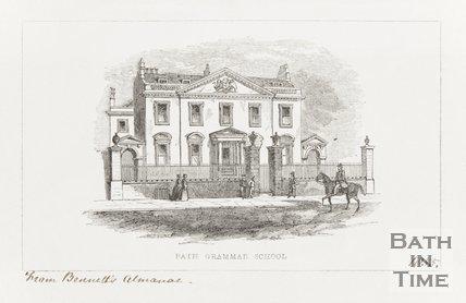 Bath Grammar School, 1855