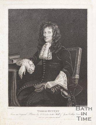 Portrait of Tobias Rustat December 1st 1796