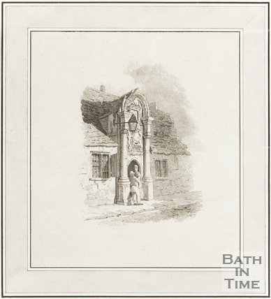 Engraving Bellotts Hospital 1824