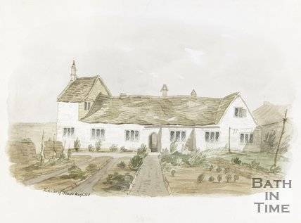 Watercolour of the Interior of Bellotts Hospital 1851