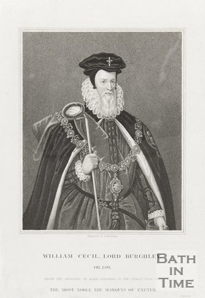 Portrait of William Cecil, Lord Burghley