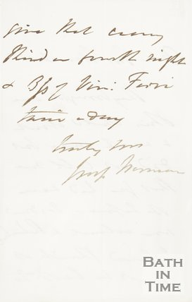 Letter to Hunt from unknown correspondent verso, c.1820s