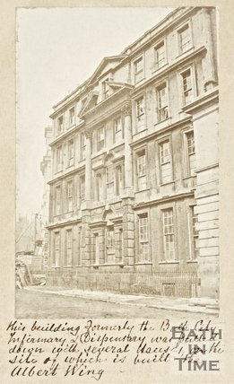 Bath City Infirmary and Dispensary, c.1860