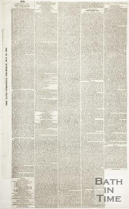 Bath Chronicle Thursday May 26th 1864