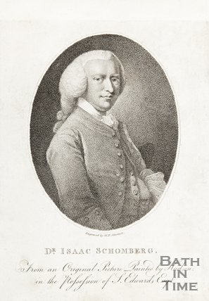 Portrait of Dr. Isaac Schomberg