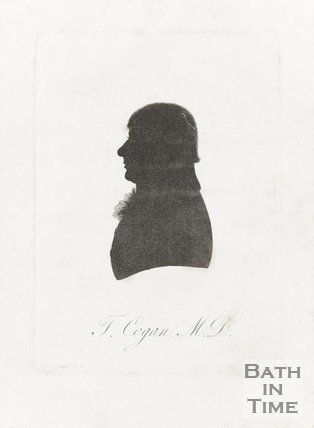 Silhouette of T. Cogan M.D.