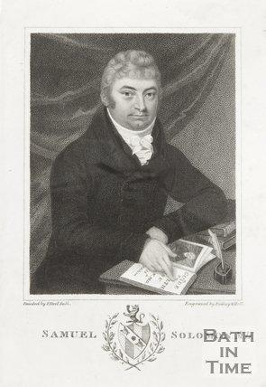 Engraving Samuel Solomon M.D.