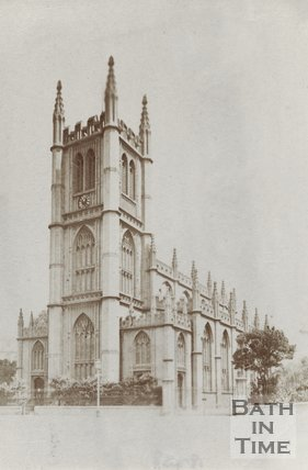 St. Marys, Bathwick, c.1860