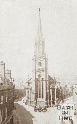 St. Michaels church, Bathwick, c.1860
