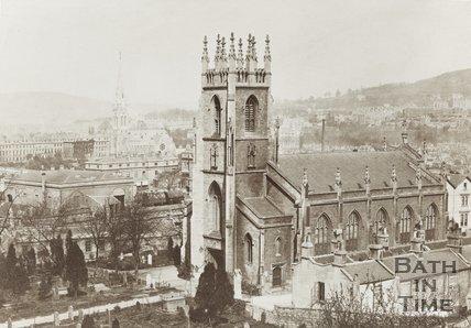 St. Marks church, Widcombe, c.1870