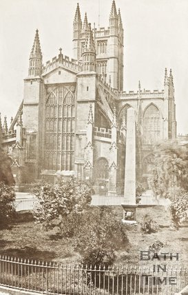 Photograph of Abbey from Orange Grove c.1880