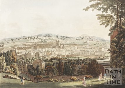View of the City of Bath, 1822