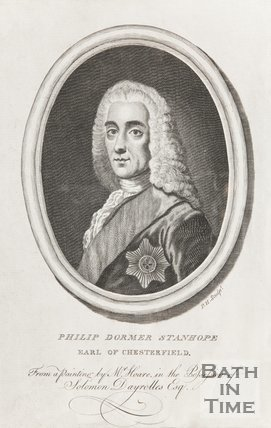 Portrait of Philip Dormer Stanhope, Earl of Chesterfield