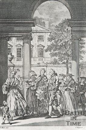Cartoon of Society in the Eighteenth Century