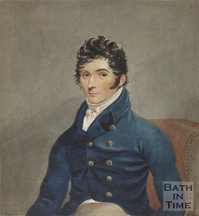 Portrait of Mr Guyenette, M.C Bath