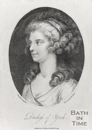 Portrait of Duchess of York, December 1st 1791