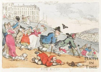 Bath Races c.1810