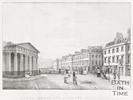 North Parade & Literary Institution 1828