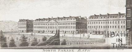 North Parade Bath c.1800