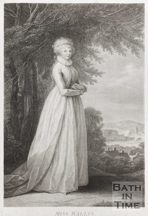 Portrait of Miss Wallis 1795