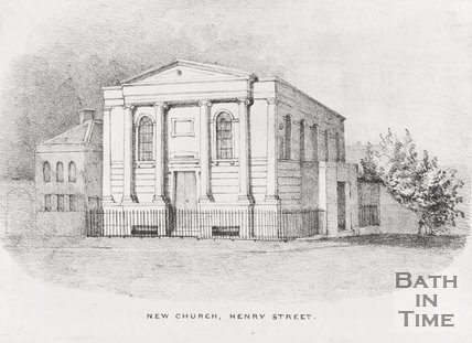 New Church Henry Street 1845