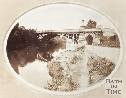 Photograph North Parade Bridge c.1860's