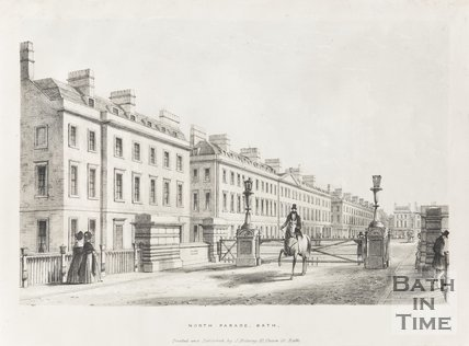 North Parade Bath 1837
