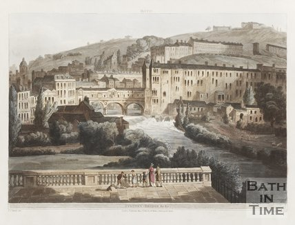 Pulteney Bridge Bath, 1804