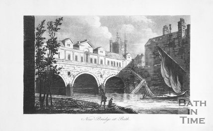 New Bridge at Bath, 1792
