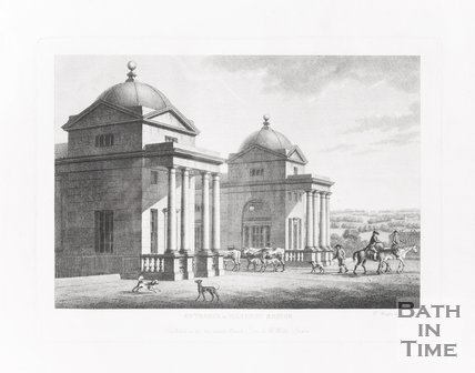 Entrance to Pulteney Bridge, 1794