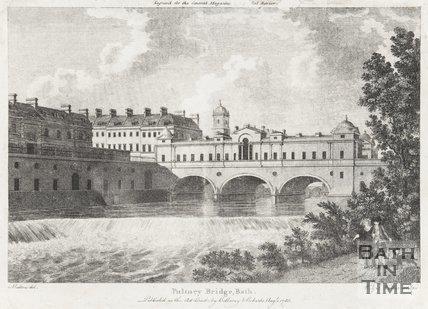 Pulteney Bridge Bath, August 1788